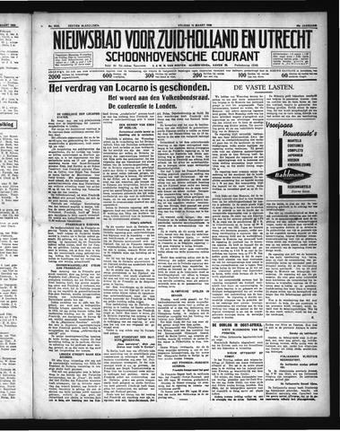 Schoonhovensche Courant 1936-03-13
