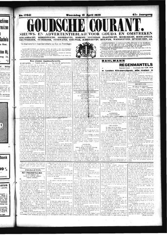 Goudsche Courant 1929-04-10