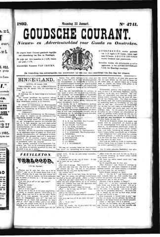 Goudsche Courant 1892-01-25
