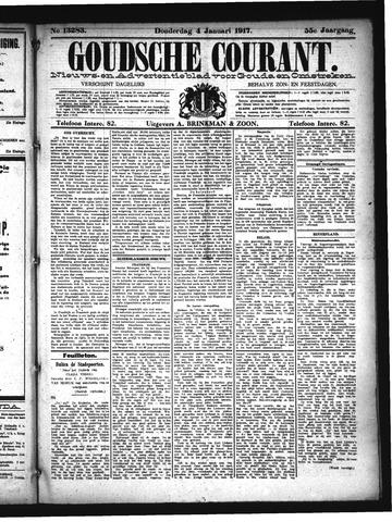 Goudsche Courant 1917-01-04