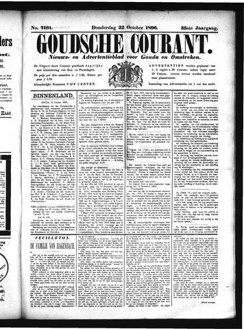 Goudsche Courant 1896-10-22