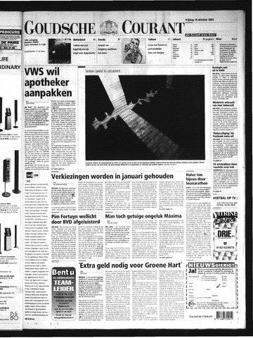Goudsche Courant 2002-10-18