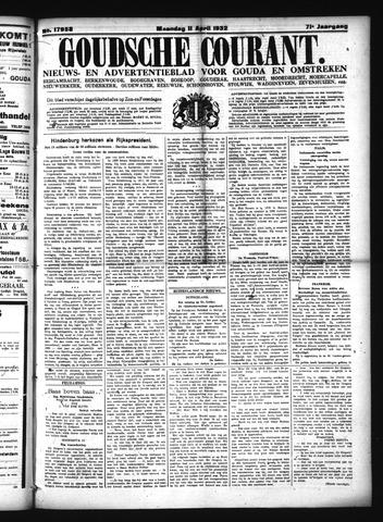 Goudsche Courant 1932-04-11