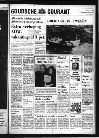 Goudsche Courant 1969-11-26