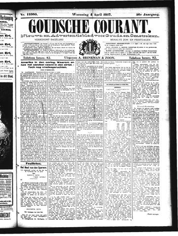 Goudsche Courant 1917-04-04