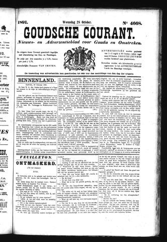 Goudsche Courant 1891-10-28