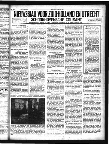 Schoonhovensche Courant 1942-02-09