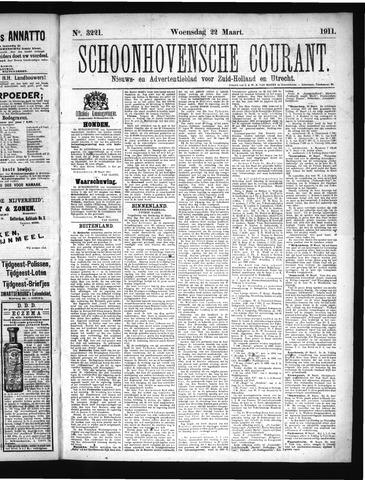 Schoonhovensche Courant 1911-03-22