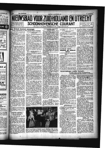Schoonhovensche Courant 1942-09-21