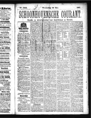 Schoonhovensche Courant 1901-05-29
