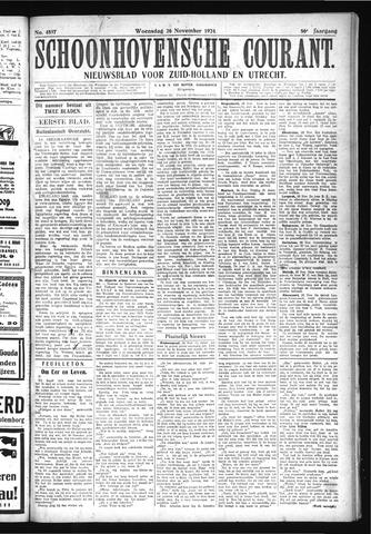 Schoonhovensche Courant 1924-11-26