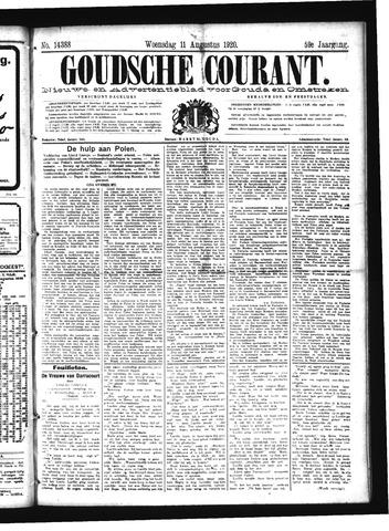 Goudsche Courant 1920-08-11
