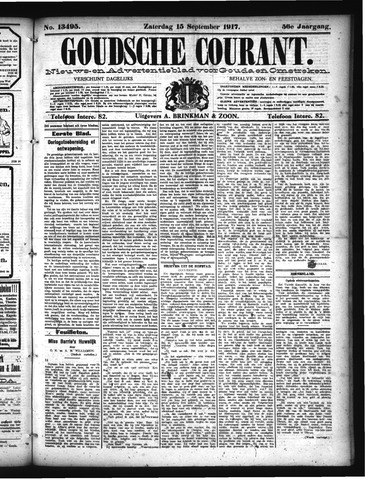 Goudsche Courant 1917-09-15