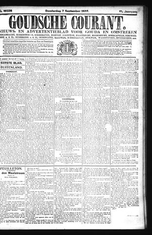 Goudsche Courant 1922-09-07