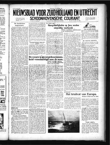 Schoonhovensche Courant 1949-10-19
