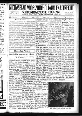Schoonhovensche Courant 1934-04-09