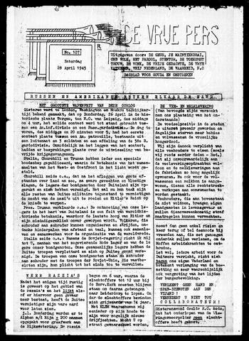 De Vrije Pers 1945-04-28