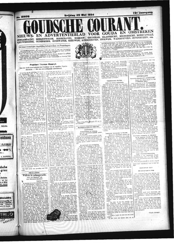 Goudsche Courant 1934-05-25