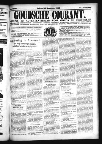 Goudsche Courant 1935-11-15
