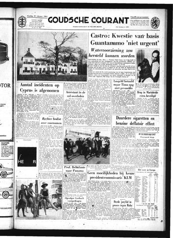 Goudsche Courant 1964-02-25