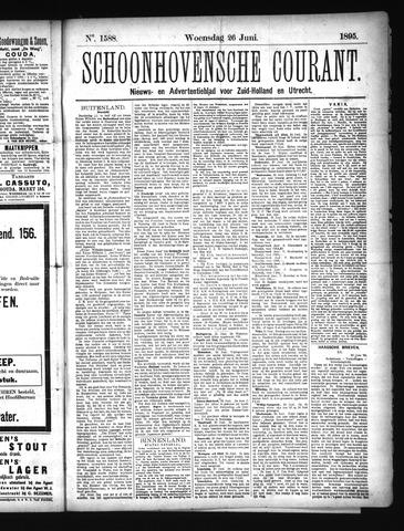 Schoonhovensche Courant 1895-06-26