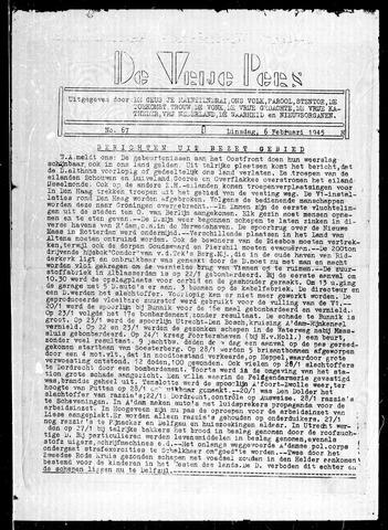 De Vrije Pers 1945-02-06
