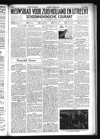 Schoonhovensche Courant 1934-02-12