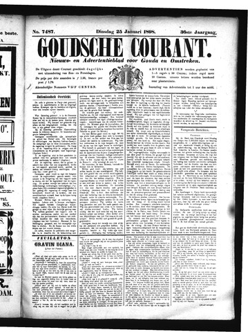 Goudsche Courant 1898-01-25