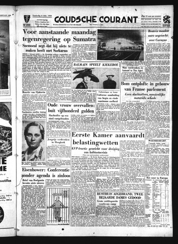 Goudsche Courant 1958-02-06