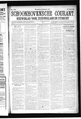 Schoonhovensche Courant 1927-01-26