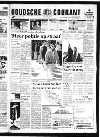 Goudsche Courant 1991-03-05
