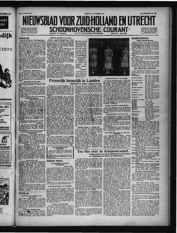 Schoonhovensche Courant 1947-11-21