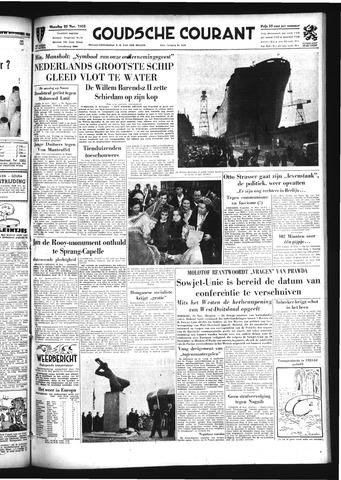 Goudsche Courant 1954-11-22