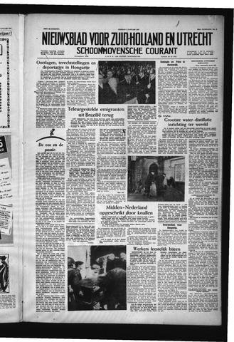 Schoonhovensche Courant 1957-01-04