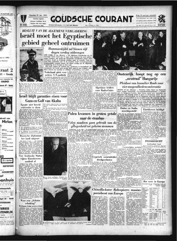 Goudsche Courant 1957-01-21