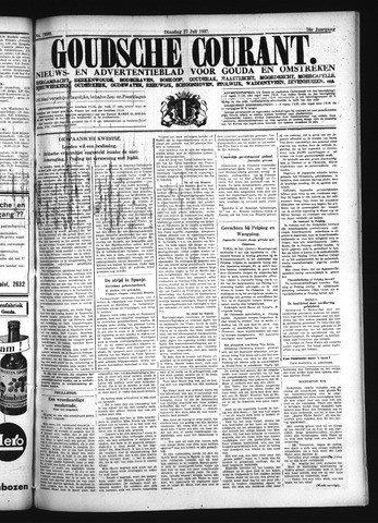 Goudsche Courant 1937-07-27