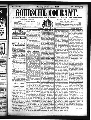 Goudsche Courant 1913-11-18