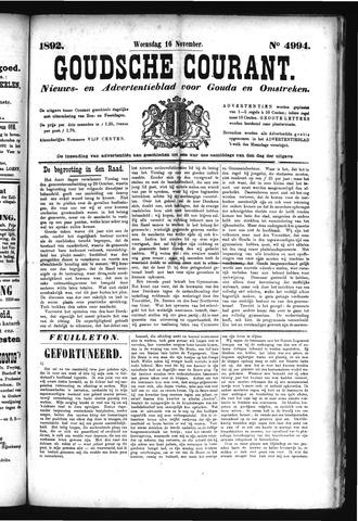 Goudsche Courant 1892-11-16