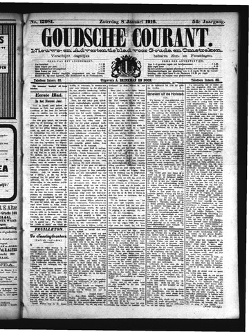 Goudsche Courant 1916-01-08