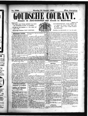Goudsche Courant 1899-01-24