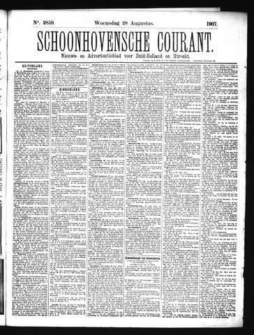 Schoonhovensche Courant 1907-08-28