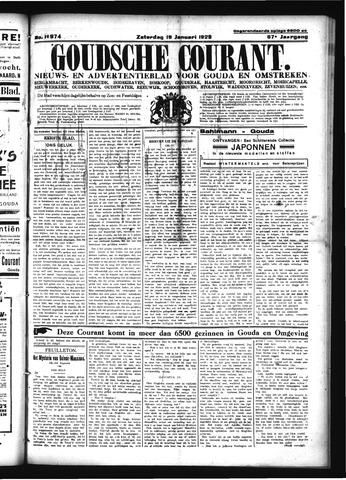 Goudsche Courant 1929-01-19