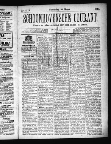 Schoonhovensche Courant 1910-03-30