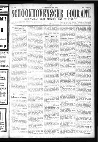 Schoonhovensche Courant 1924-05-12