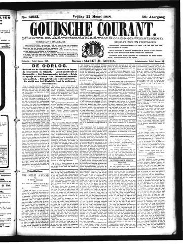 Goudsche Courant 1918-03-22