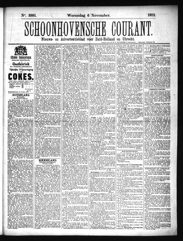Schoonhovensche Courant 1912-11-06