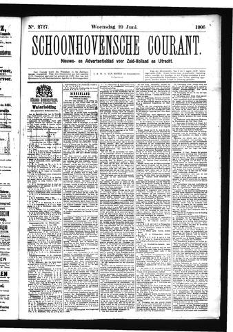Schoonhovensche Courant 1906-06-20
