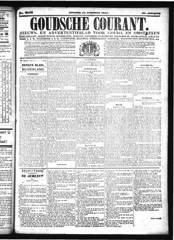 Goudsche Courant 1922-08-22