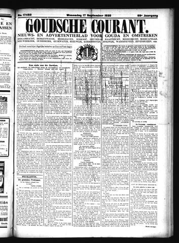 Goudsche Courant 1930-09-17