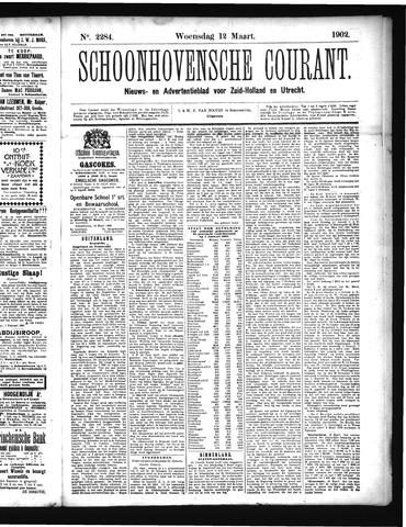 Schoonhovensche Courant 1902-03-12
